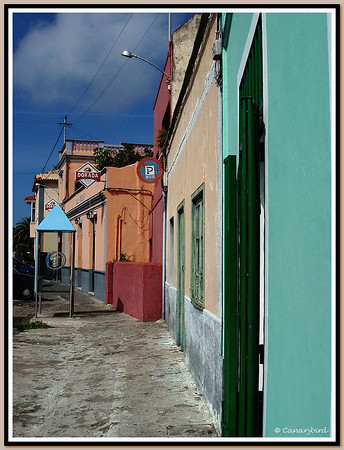 coloured facades
