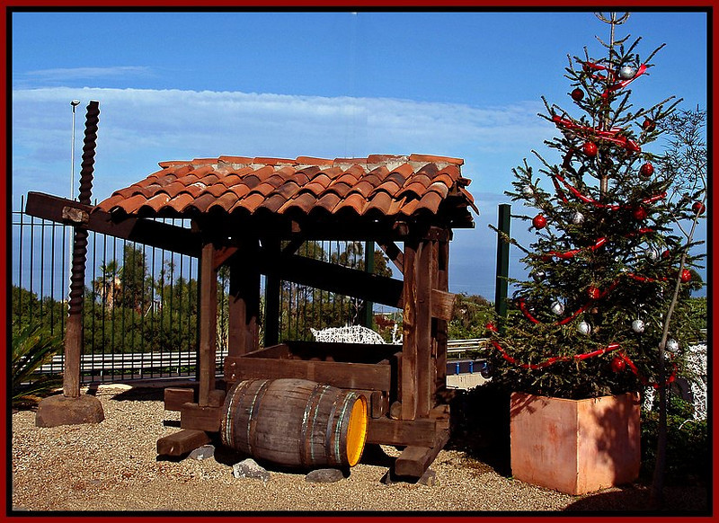 grape press, Christmas
