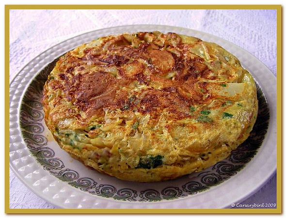 whole omelette